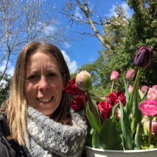 Hi! This is me, Tess. I wanted to share some exciting news! **Our flowers are now available to purchase online! **Natural seasonal blooms, chemical free and sustainably grown. Available for collection and local delivery.#buyonline #locallygrownflowers #webshop #irisandwilfmay #mayflowers #naturalflowers #zeroairmilesflowers #slowflowers #growingwiththeseasons #buckets #bouquets #weddingflowers